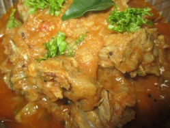 mutton gravy south indian style